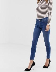 Синие джинсы скинни с классической талией ASOS DESIGN Lisbon-Синий