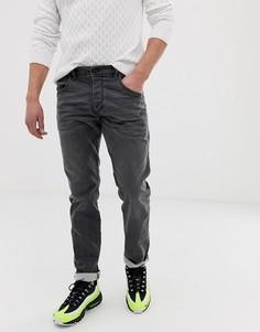 Серые узкие джинсы Diesel D-Bazer 0699P-Серый