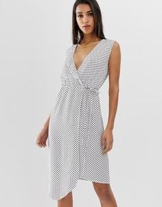 Асимметричное платье AX Paris-Кремовый