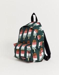 Мини-рюкзак с принтом Eastpak-Зеленый