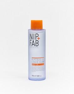 Тоник для ежедневного использования с гликолевой кислотой 2% Nip+Fab-Бесцветный