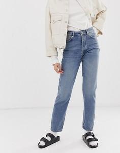 Прямые джинсы Selected Femme-Синий