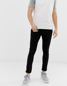 Черные супероблегающие джинсы Loyalty & Faith-Черный
