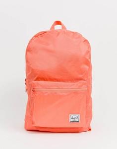 Неоновый складывающийся рюкзак Herschel Supply Co Daypack-Розовый