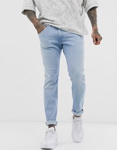 Светлые джинсы скинни Wrangler Bryson-Синий