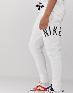 Белые спортивные штаны с логотипом Nike Air-Белый