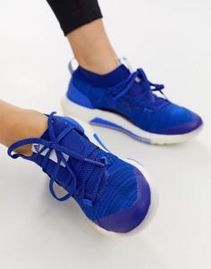 Темно-синие кроссовки adidas PureBOOST 3.0-Темно-синий