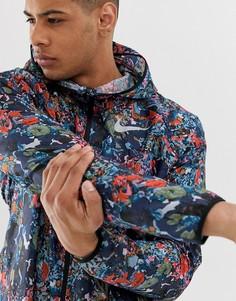 Разноцветная ветровка с принтом Nike Running-Мульти