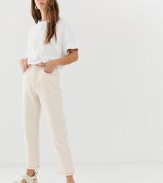 Светло-бежевые джинсы в винтажном стиле Reclaimed Vintage The 91-Белый