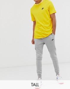 Джоггеры с флисовой изнанкой Nike Tall - Tech-Серый