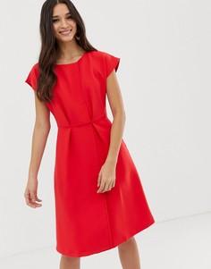 Красное платье-кимоно с запахом Closet-Красный