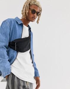 Джинсовая куртка на молнии с рваной отделкой ASOS DESIGN-Синий