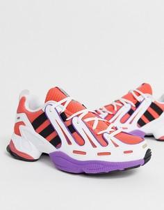 Кроссовки кораллового цвета adidas Originals EQT Gazelle-Красный