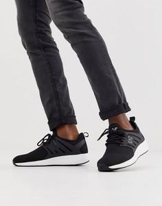 Черные кроссовки Armani EA7 minimal run-Черный