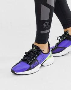 Фиолетовые кроссовки Reebok sole fury-Фиолетовый
