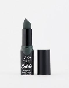 Матовые губные помады NYX Professional Makeup Suede (Shake That Money)-Розовый