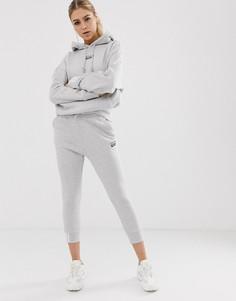 Серые джоггеры с манжетами adidas Originals RYV-Серый