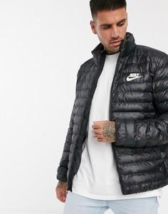 Черная дутая куртка Nike Eco-Down-Черный