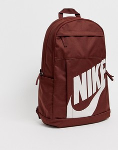 Бордовый рюкзак Nike Elemental-Красный