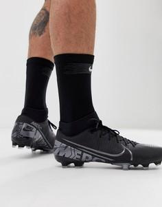 Черные футбольные бутсы Nike Football superfly 7-Черный