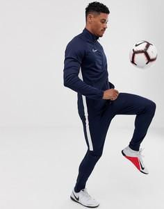 Темно-синий спортивный костюм Nike Football
