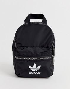 Маленький рюкзак с логотипом adidas Originals-Черный