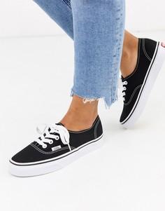 Черные кроссовки Vans Classic-Черный