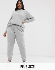 Серые джоггеры Nike plus essentials-Серый