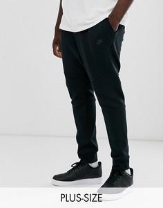 Черные флисовые джоггеры Nike Plus Tech-Черный