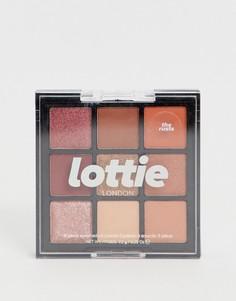 Палитра теней для век Lottie London - The Rusts-Мульти