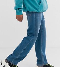 Свободные расклешенные джинсы Reclaimed Vintage Inspired-Синий