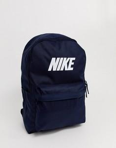 Темно-синие рюкзак Nike Heritage-Темно-синий