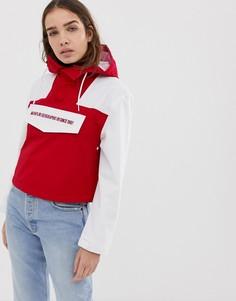 Красная укороченная куртка Napapijri Rainforest-Красный
