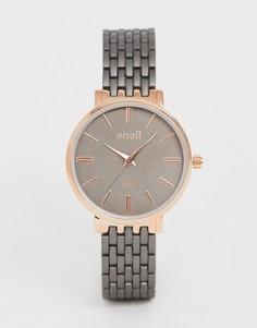 Серые женские наручные часы Anaii-Черный