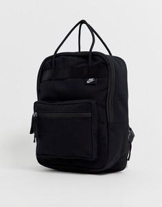 Маленький прямоугольный рюкзак черного цвета Nike-Черный