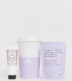 Подарочный набор Frank Body Coffee Cup Mocha-Latte - Кофейный скраб с какао и маска для лица-Бесцветный