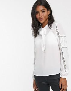 Блузка с бантиком Y.A.S-Белый