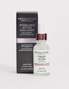 Придающее упругость средство для ухода за кожей Revolution Skincare - Стабилизированный активный коллаген-Бесцветный