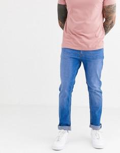 Ярко-синие узкие джинсы Burton Menswear-Синий