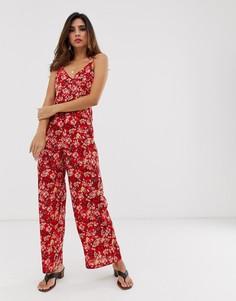 Комбинезон с цветочным рисунком Uttam Boutique-Красный