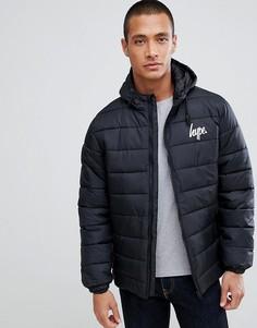 Дутая куртка с логотипом Hype-Черный