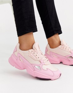 Розовые кроссовки adidas Originals - Falcon-Розовый