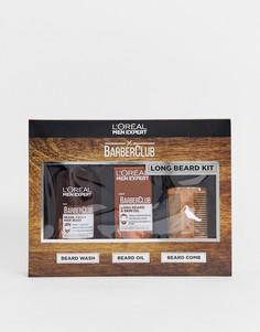 Набор средств по уходу за длинной бородой LOreal Men Expert Barber Club-Бесцветный