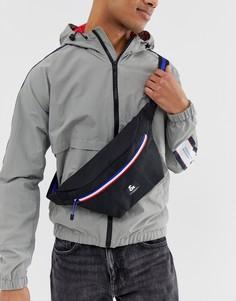 Черная сумка-кошелек с контрастной молнией Jack & Jones-Черный