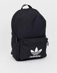 Черный рюкзак с логотипом adidas Originals