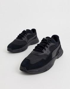 Черные кроссовки Puma Storm Origin-Черный