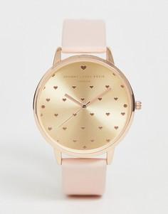 Бледно-розовые женские часы Johnny loves Rosie-Кремовый