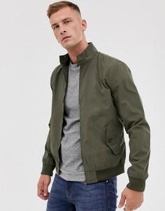 Легкая куртка Харрингтон French Connection-Зеленый