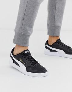 Черные низкие кроссовки Puma - Ralph Sampson-Черный