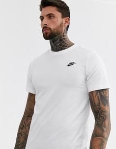Белая футболка Nike Club Futura-Белый